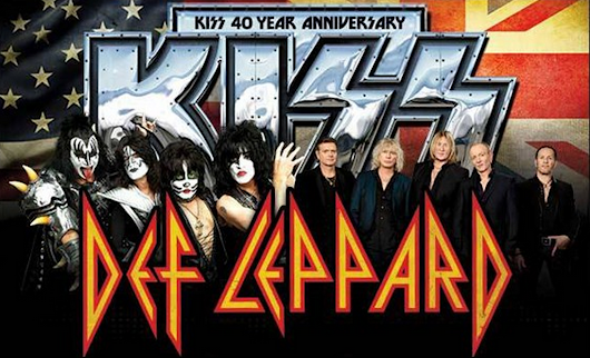 KISS AND DEF LEPPARD @ THE LA FORUM 7/8/14 CONCERT REVIEW