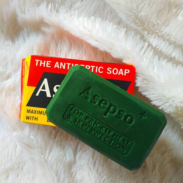 Sabun gatal asepso, sabun asepso antiseptik obati kulit gatal