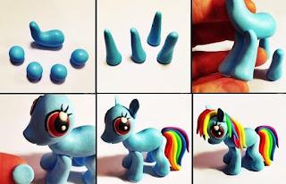 pony de plastilina