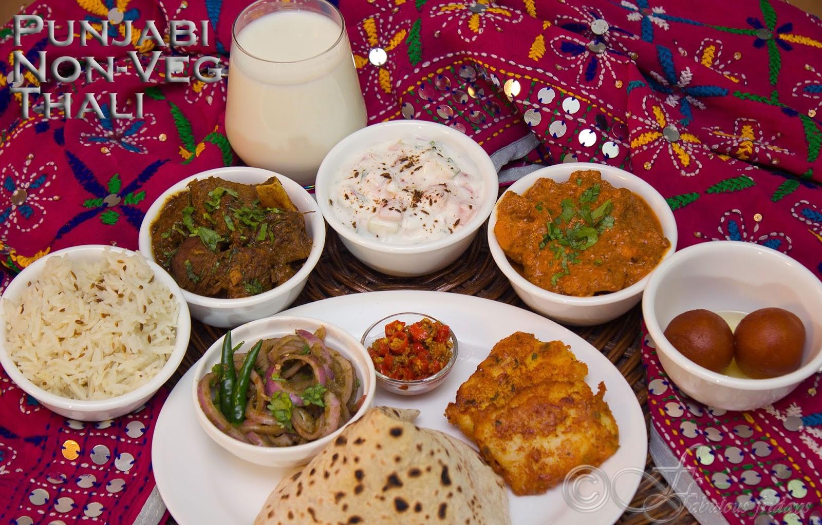 Fabulous Fridays Punjabi Non Veg Thali