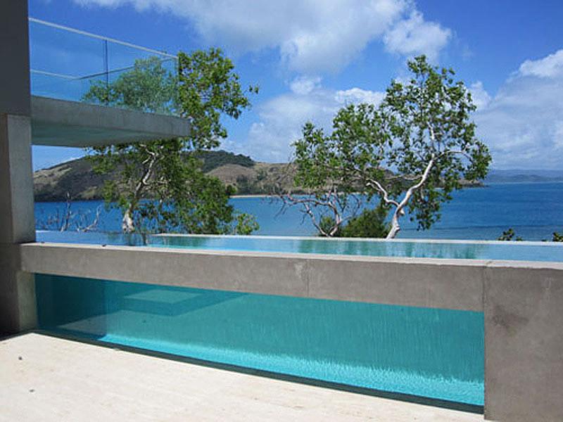pool at solis house