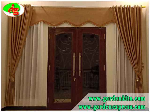 Desain Gorden Minimalis Untuk Gorden Jendela Minimalis Dan Gorden Pintu Kamar Ashifa Gordyn