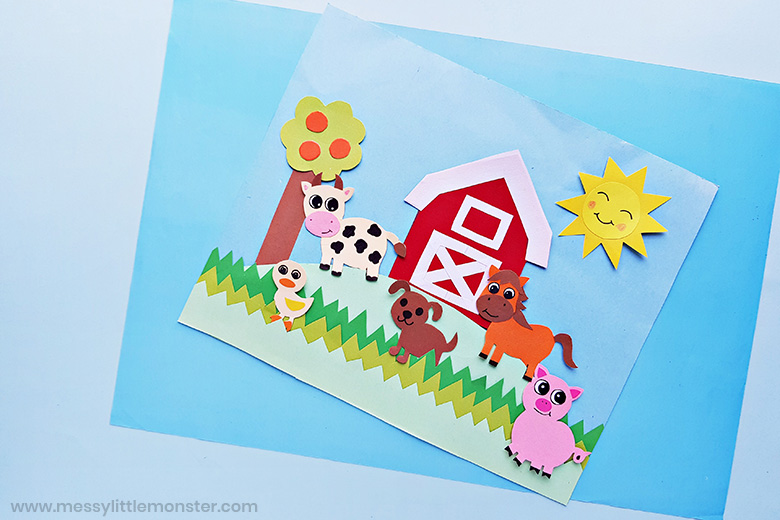 farm animal craft for toddlers