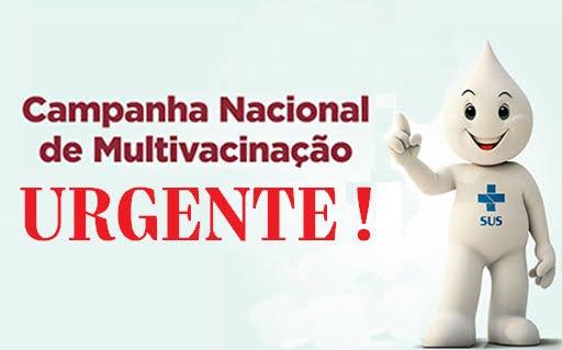 VACINAÇÃO DE CRIANÇAS URGENTE: Sociedade Brasileira de Pediatria encaminhou manifesto ao governo com sinal de alerta urgente! Confira!