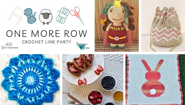 One More Row - Free Crochet Link Party #30