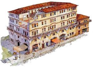 Riassunto sulla società romana, insule e domus, la vita dei romani