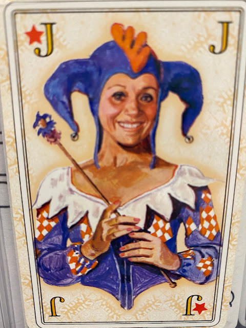 sweet jester lady