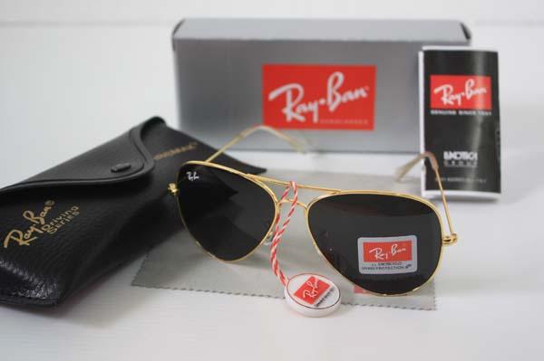 5dd85e9be1 ray ban aviator black lens gold frame