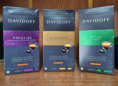 Davidoff Style, Elegance ve Prestige Kahve Kapsülleri