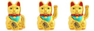 Chinese Fortune Cats Maneki Neko
