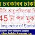 Directorate of Economics & Statistics, Assam Recruitment 2021: Apply Online for 45 Inspector of Statistics Vacancy