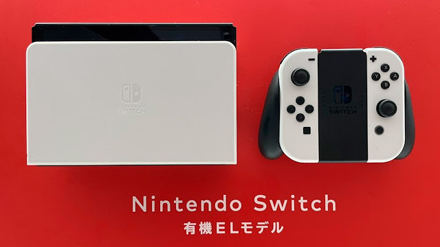 Switch OLED: novas imagens mostram modelo em exibição em lojas no Japão