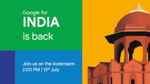 Get ready India Google for India Event is Coming Directly on Your Screen - Vivek Tech World
