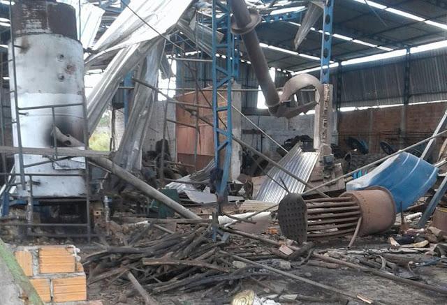 Explosão em vulcanizadora de pneus mata duas pessoas no Maranhão