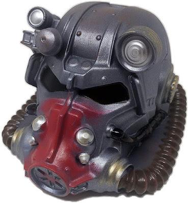 Power Armor Helmet Coin Bank