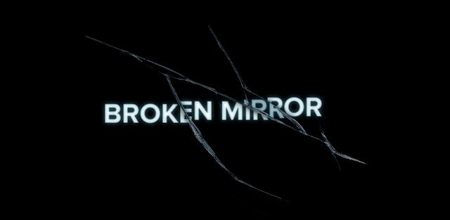 Текстовый эффект разбитого зеркала в Фотошопе