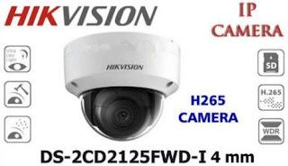 IP Camera HIKVISION DS-2CD2125FWD-I 2.8mm