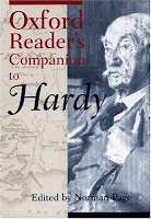 Oxford Reader's Companion to Hardy by Norman Page.