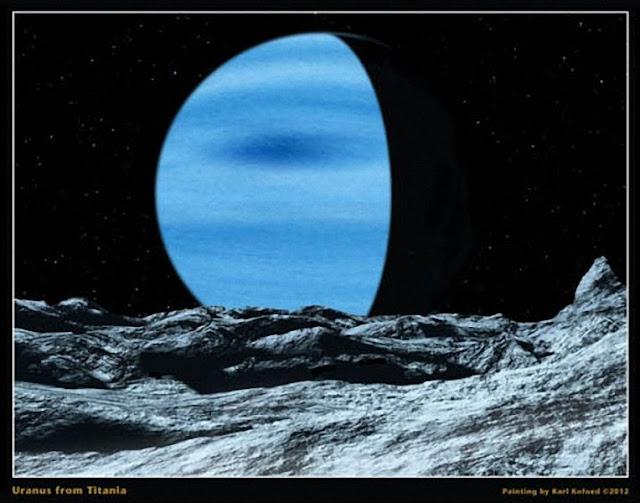Miranda, luna de Saturno