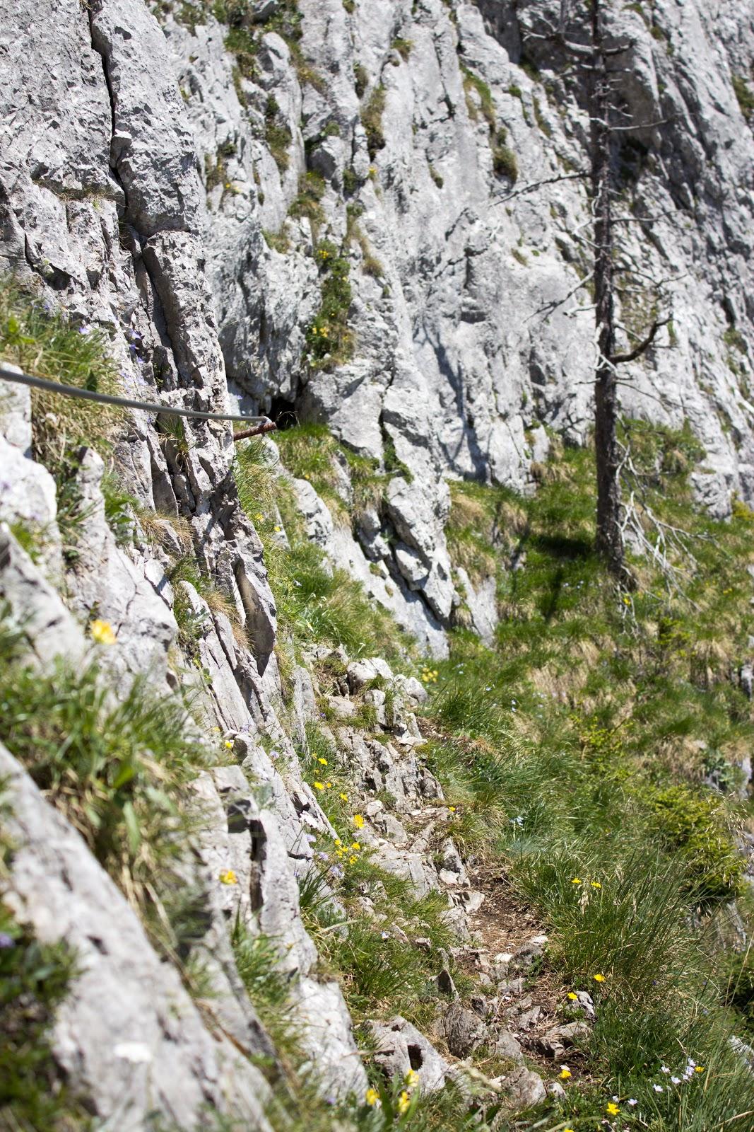 Südwandsteig Schrabachersteig Pfaffenstein Eisenerz Klettersteig