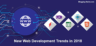 10 New Game-Changing Web Development Trends in 2018