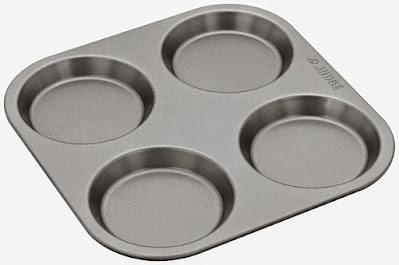 4 hole Yorkshire pudding tin