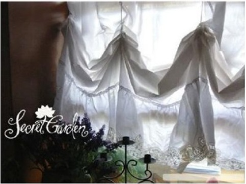 Beautiful Vintage cotton curtain design