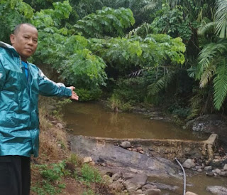 Hujan Sudah Turun Namun Dam PDAM Kotabaru Masih Kering
