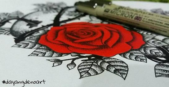 Ros Merah