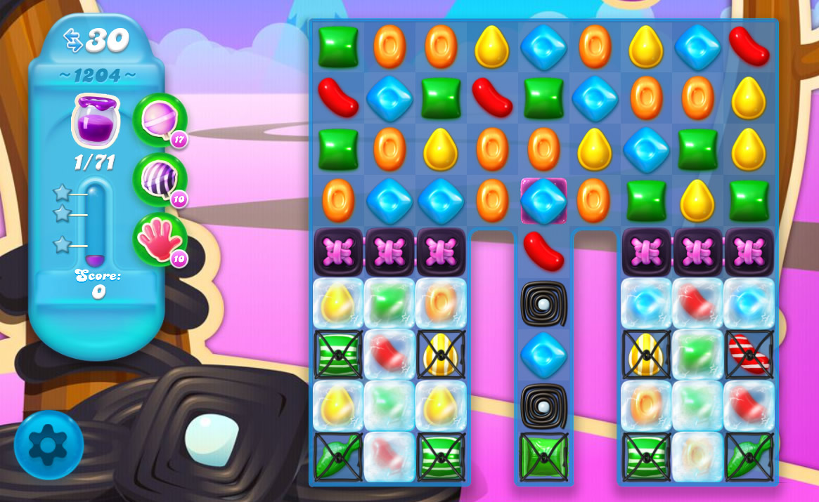 Candy Crush Soda Saga level 1204