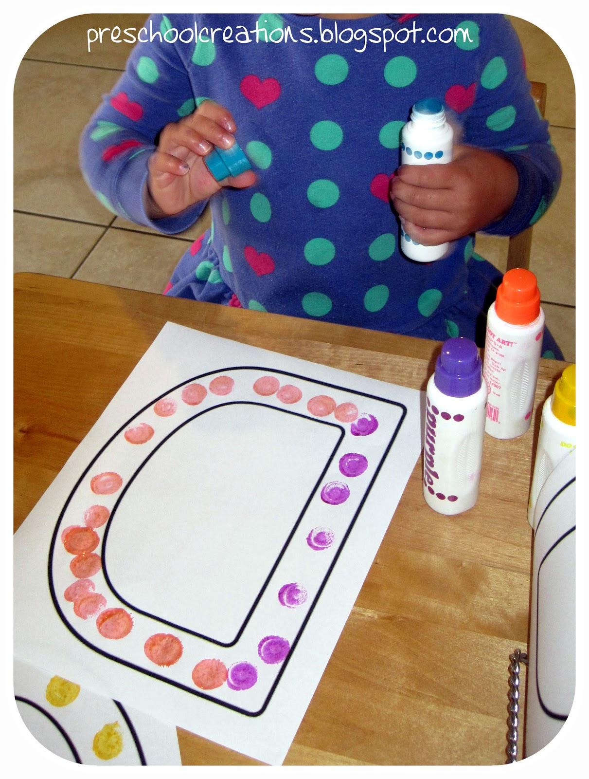 Preschool Creations Letter D Activities