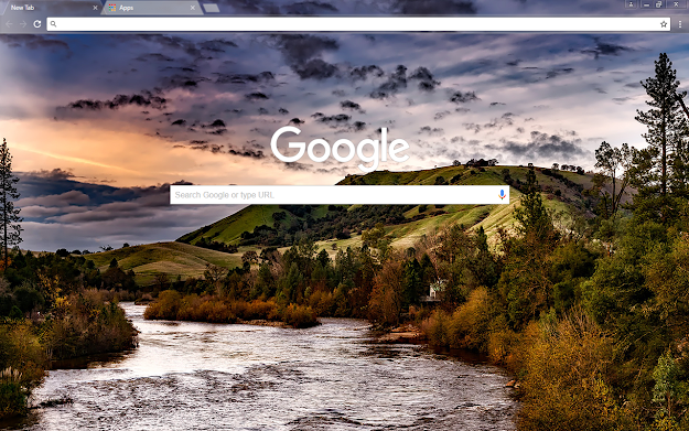 American River Google Theme