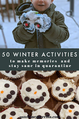 50 Fun Things to Do with your Kids this Winter in Quarantine (That Don't Require Buying Anything)