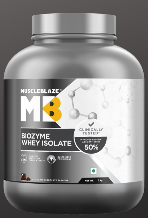 MuscleBlaze Biozyme Whey Review | Whey for India