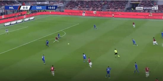 البث المباشر : ميلان وساسولو ac-milan vs sassuolo kora online