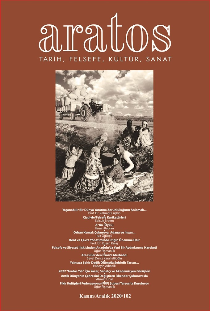 ARATOS FELSEFE DERGİSİNİN 102. SAYISI YAYINLANDI