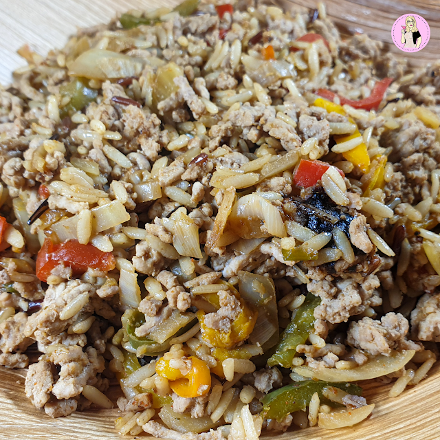 Pork Dirty Rice Recipe | slimming world pork mince recipes