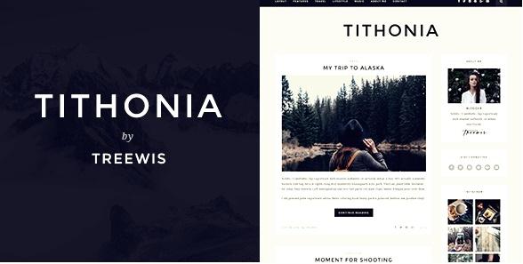 Tithonia Wordpress Teması