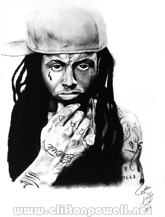 Lil Wayne Illustration