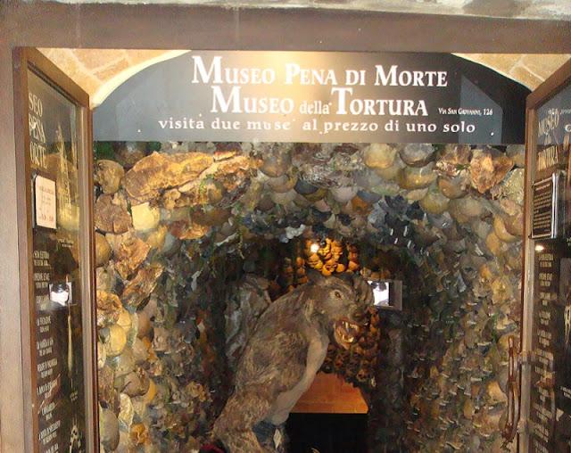 Museu della Tortura e della Pena di Morte em San Gimignano