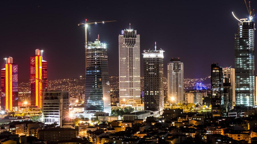 istanbul şişli manzarası