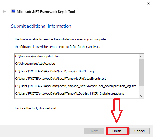 حل جميع مشاكل NET Framework مع أداة NET Framework Repair Tool