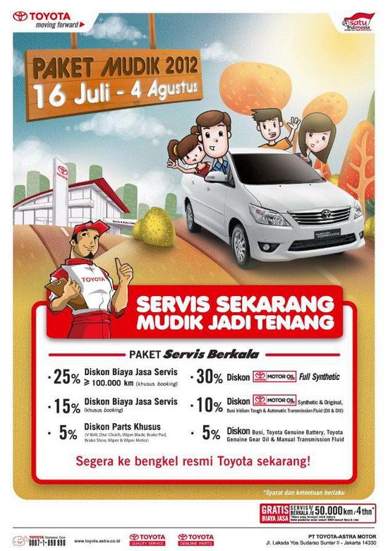 Harga Oli Grand New Avanza Veloz Semisena Paket Toyota Mudik 2012 - Astra Indonesia
