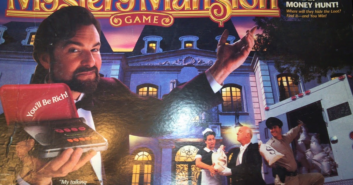 A Board Game A Day Mystery Mansion