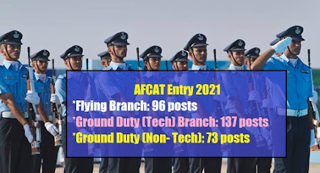 Indian Air Force 2021 Recruitment