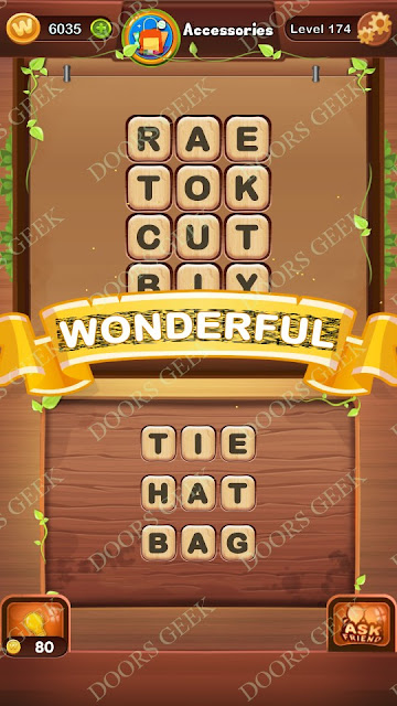 Word Bright Level 174 Answers, Cheats, Solutions, Walkthrough for android, iphone, ipad and ipod
