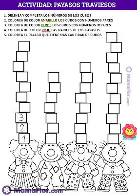 Aprende Matemáticas para niños de pre-escolar