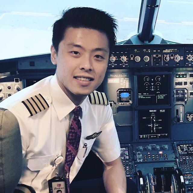 Lebih Mengenal Pilot Muda Vincent Raditya