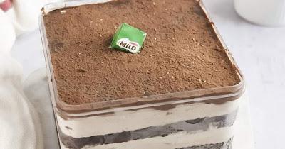 Cara Membuat Dessert Box Milo Mudah