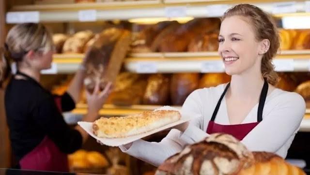 atendente de padaria